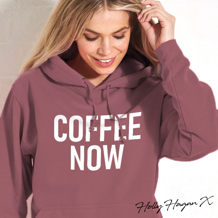 Holly Hagan X Coffee Now Hoodie - Image 1