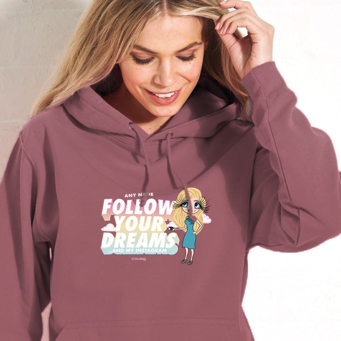 ClaireaBella Follow Your Dreams Hoodie - Image 1