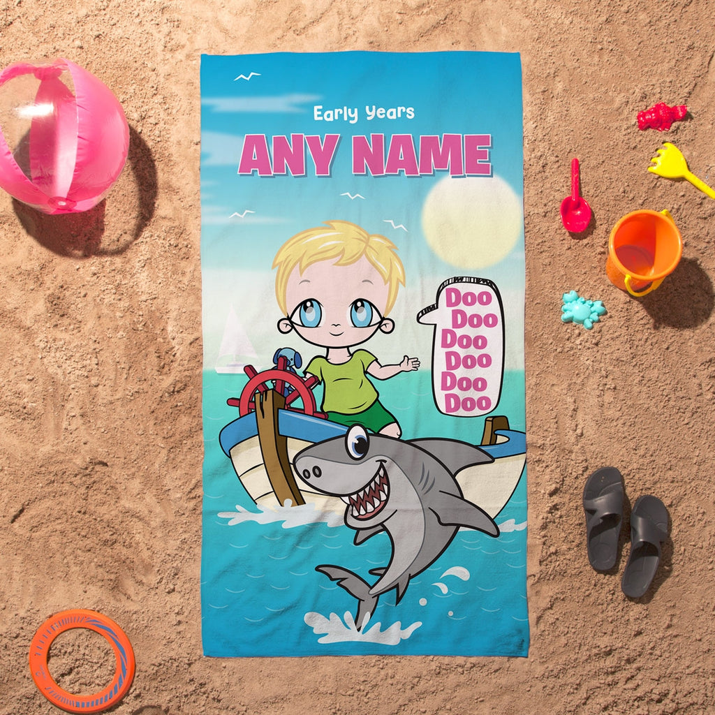 Early Years Baby Shark Beach Towel - Image 1