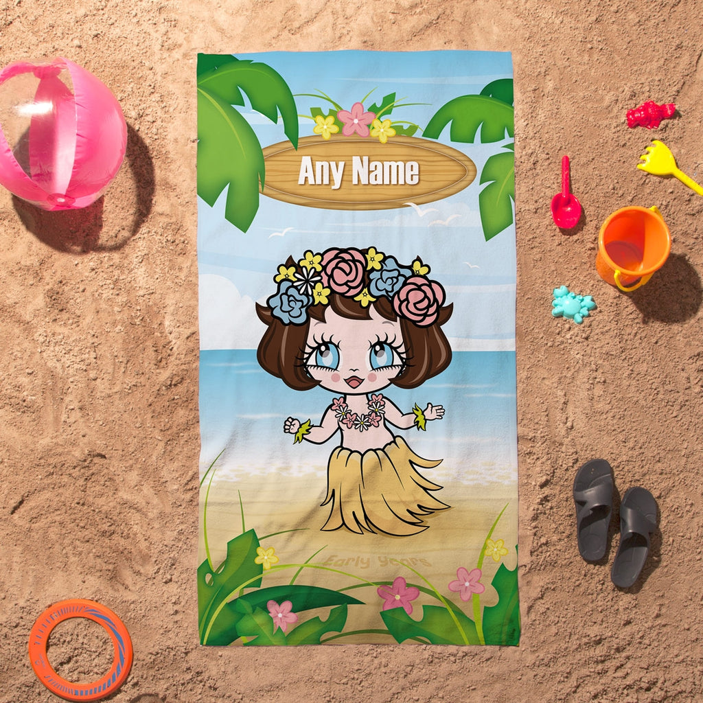 Early Years Hula Beach Towel - Image 1