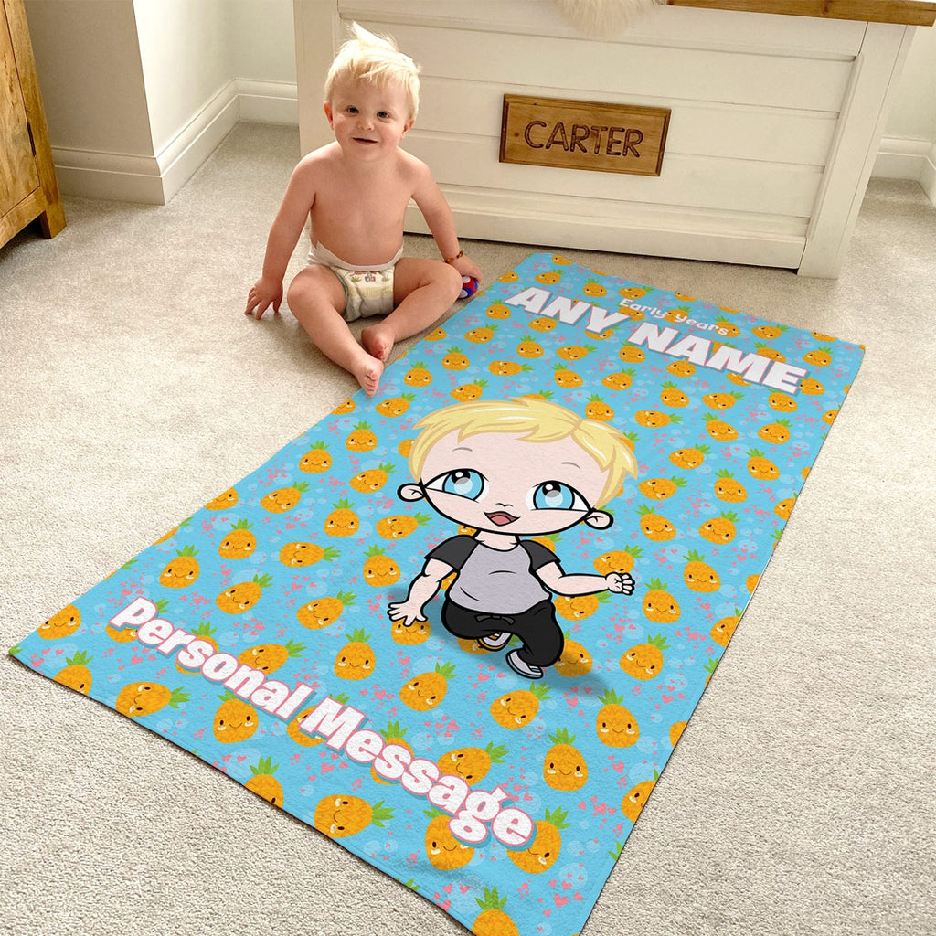 Early Years Pineapple Beach Towel - Image 1