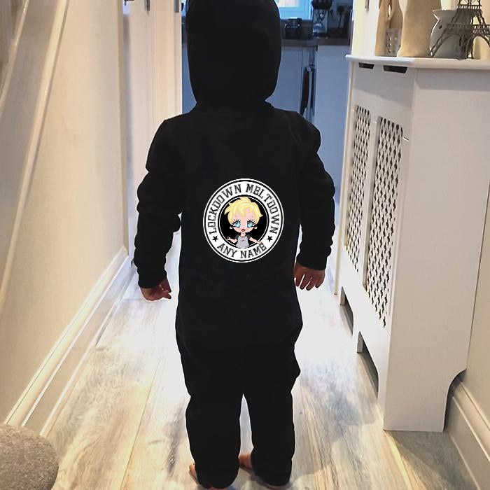 Early Years Boys Lockdown Meltdown Onesie - Image 2