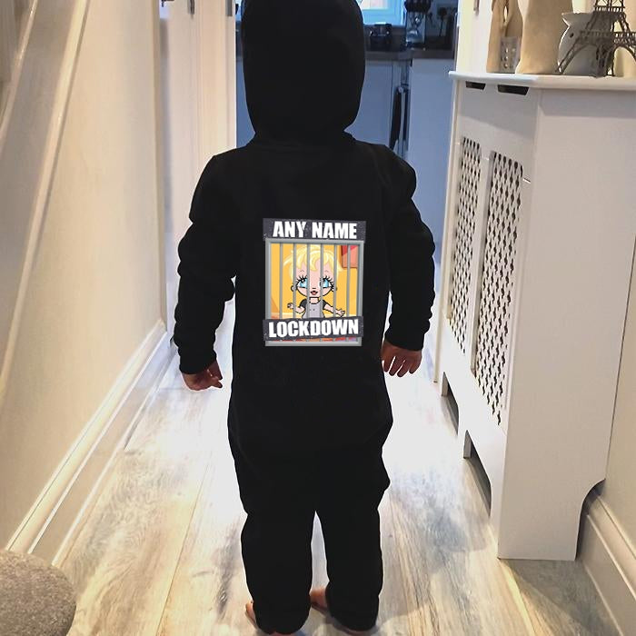 Early Years Boys Lockdown Onesie - Image 1