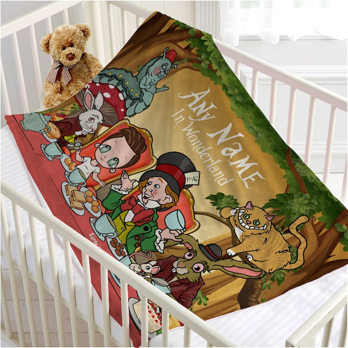 Early Years Wonderland Fleece Blanket - Image 1