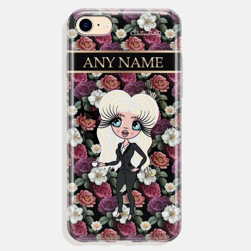 ClaireaBella Floral Phone Case - Image 1