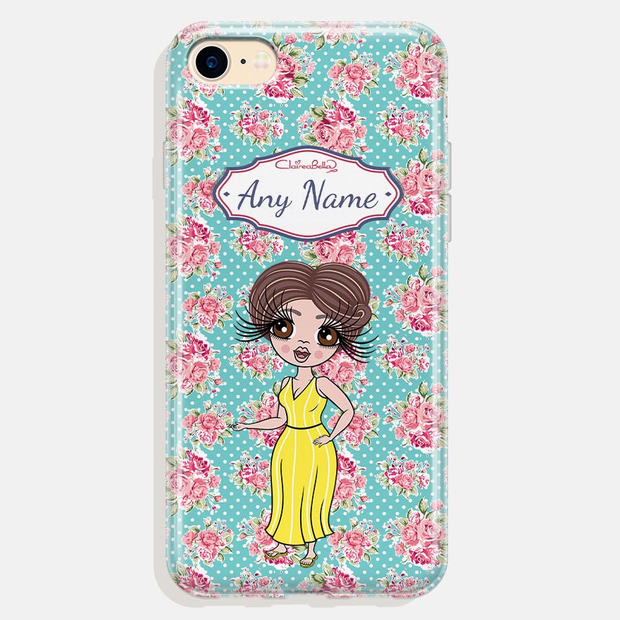 ClaireaBella Personalised Rose Phone Case