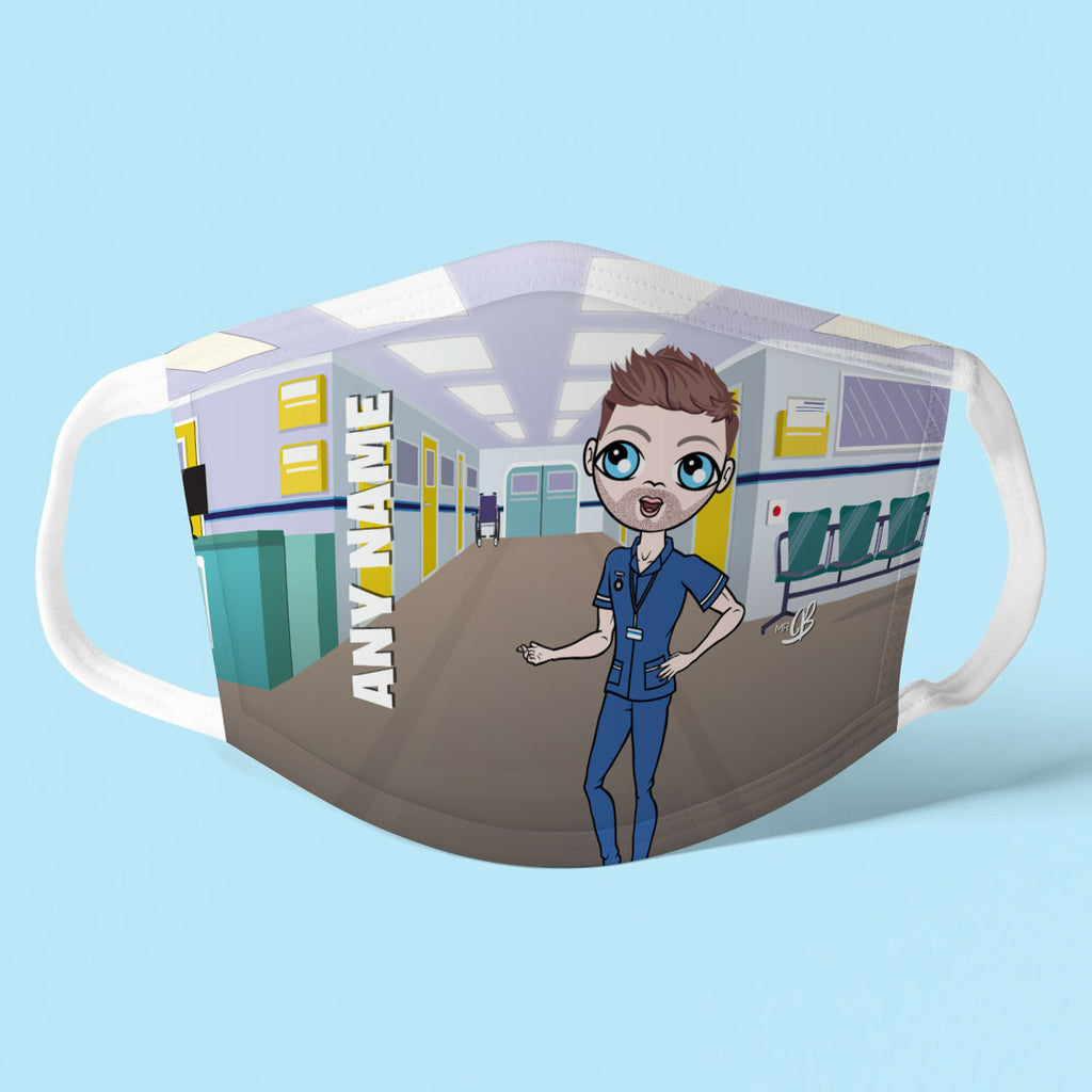 MrCB Personalised Hospital Reusable Face Covering