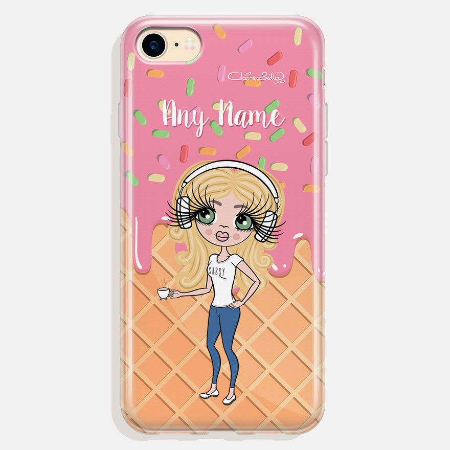 ClaireaBella Personalised Ice Lolly Phone Case