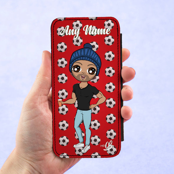 MrCB Personalised Football Flip Phone Case - Image 3
