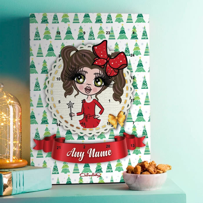ClaireaBella Girls Christmas Tree Advent Calendar - Image 1