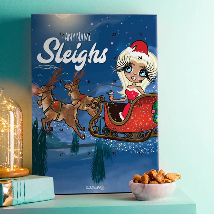 ClaireaBella Sleigh Ride Advent Calendar - Image 1