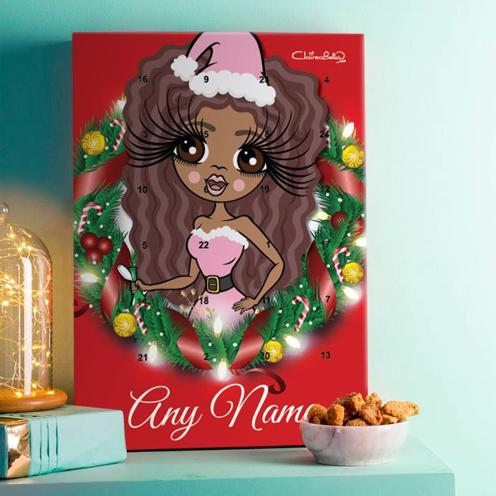 ClaireaBella Christmas Wreath Advent Calendar - Image 1