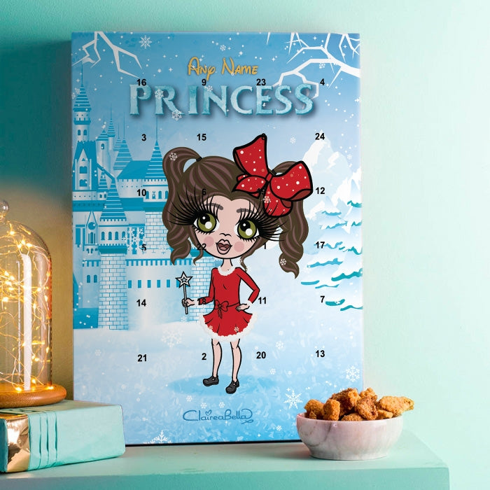 ClaireaBella Girls Snow Princess Advent Calendar - Image 1