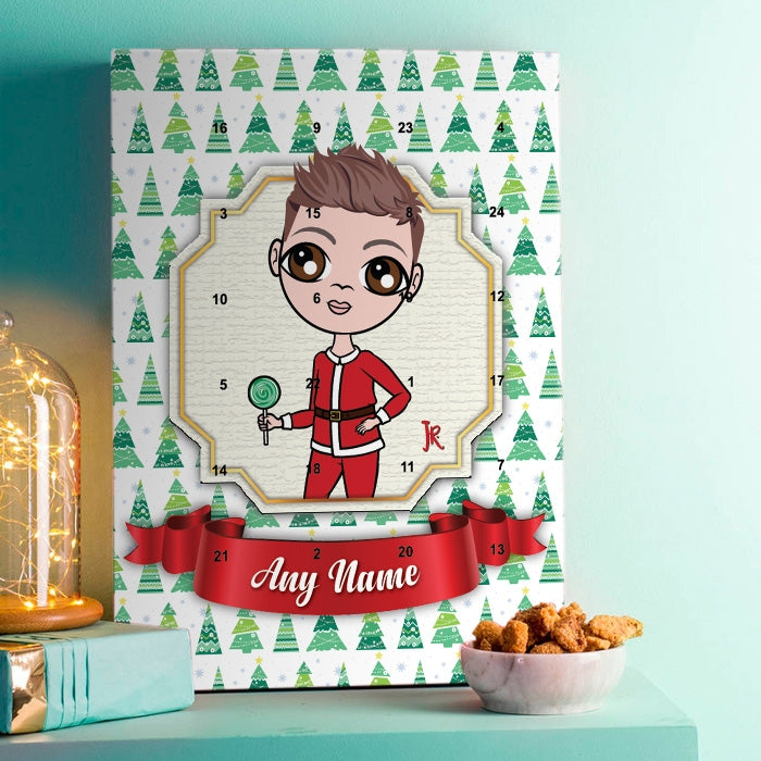 Jnr Boys Christmas Tree Advent Calendar - Image 1
