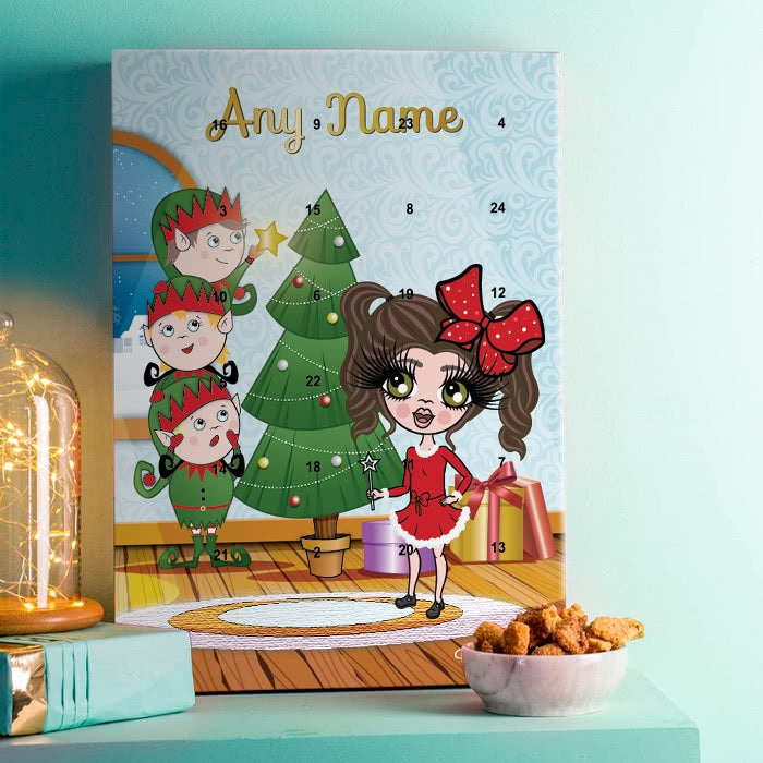 ClaireaBella Girls Santa's Helpers Advent Calendar - Image 1