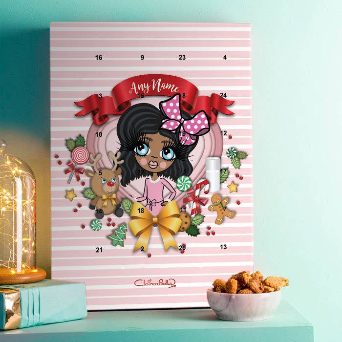 ClaireaBella Girls Festive Love Advent Calendar - Image 1