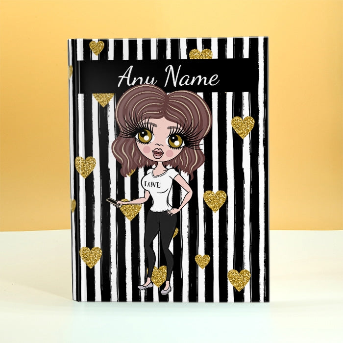 ClaireaBella Striped Diary - Image 1