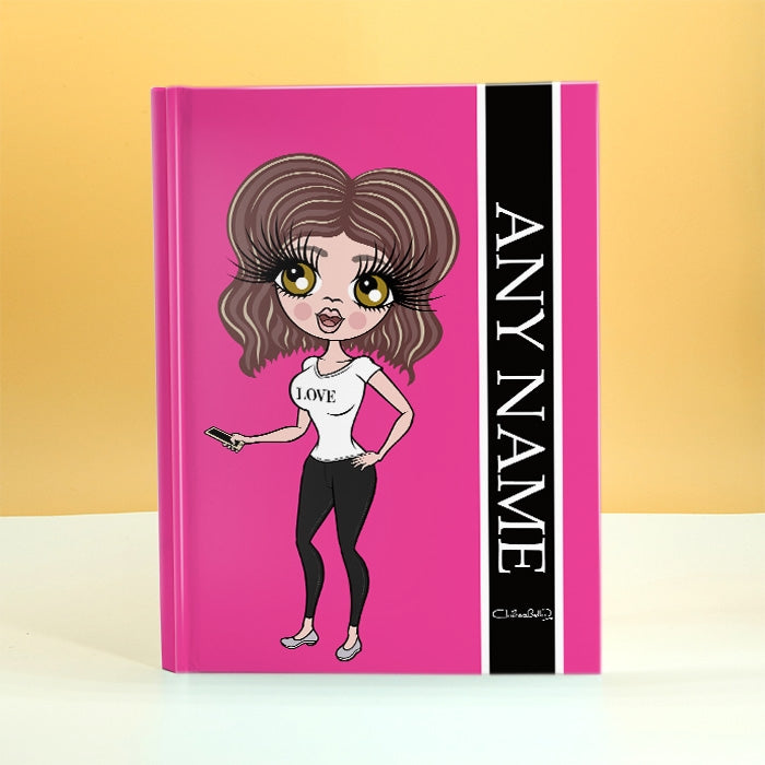 ClaireaBella Hot Pink Diary - Image 1
