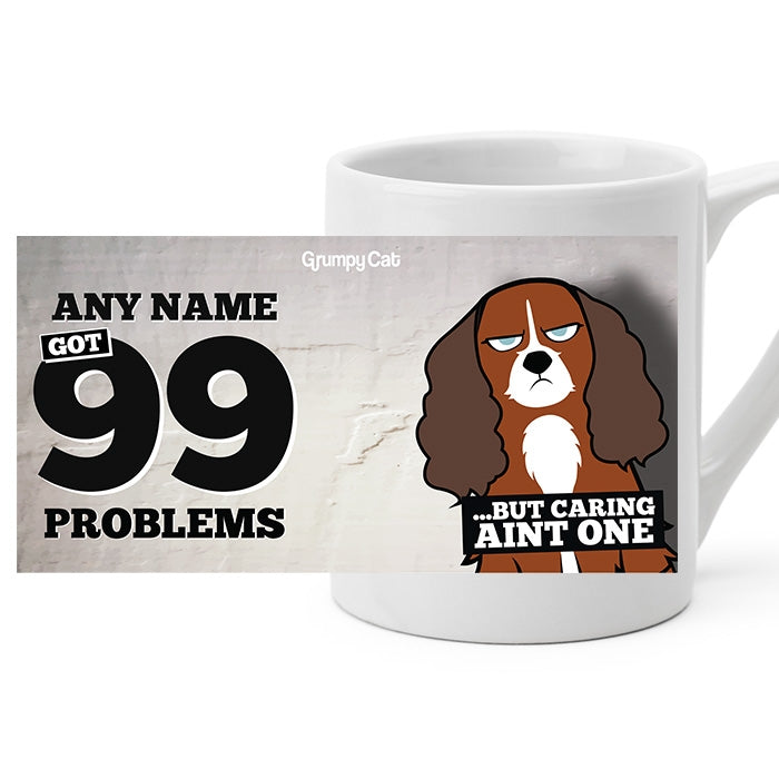 Grumpy Cat 99 Problems Mug - Image 6