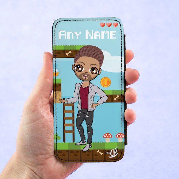 MrCB Personalised Gamer Flip Phone Case - Image 3