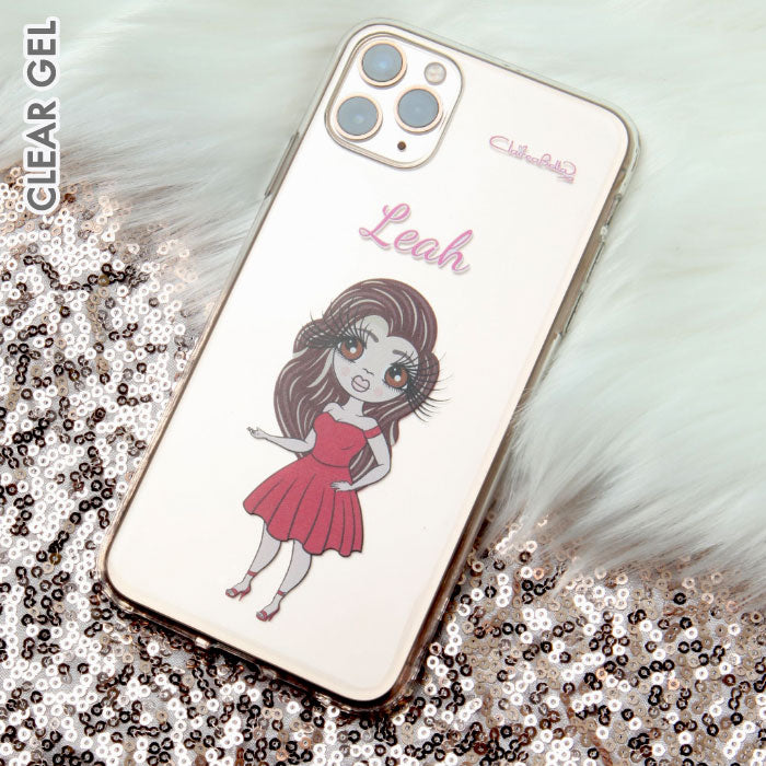 ClaireaBella Classic Clear Soft Gel Phone Case