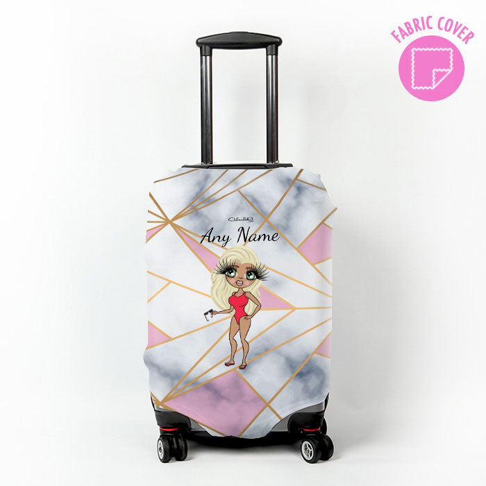 ClaireaBella Geo Suitcase Cover