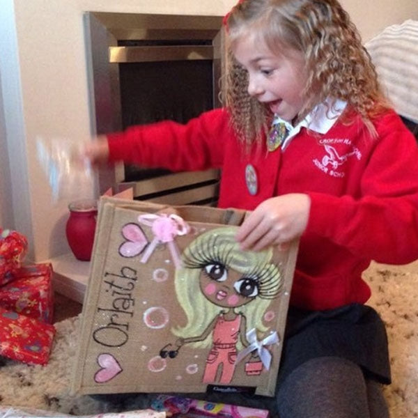ClaireaBella Girls Medium Jute Bag - Image 8