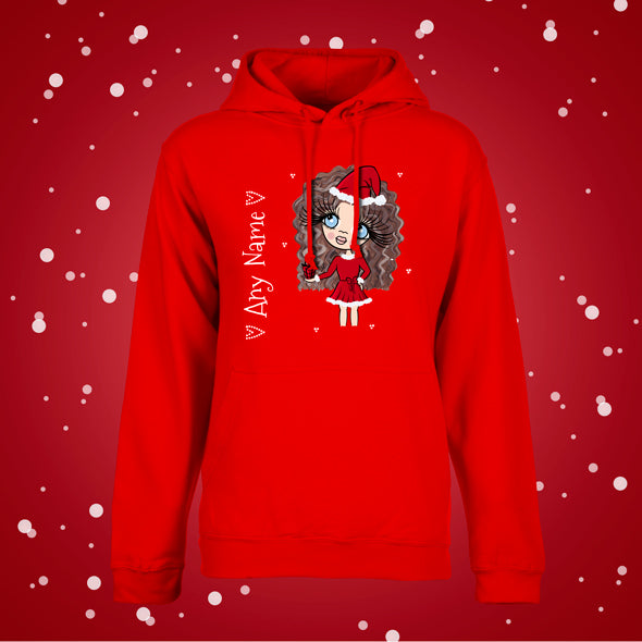 ClaireaBella Girls Christmas Hoodie - Image 3
