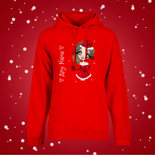ClaireaBella Girls Christmas Hoodie - Image 2