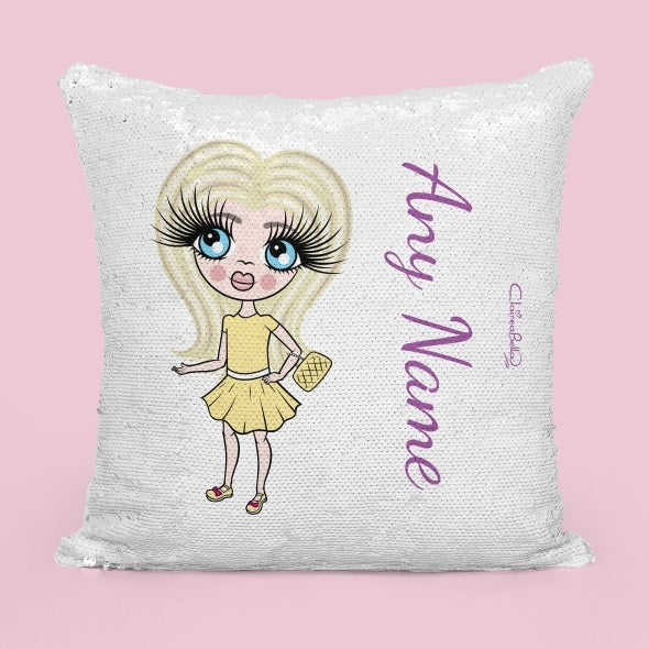 ClaireaBella Girls Classic Sequin Cushion - Image 4