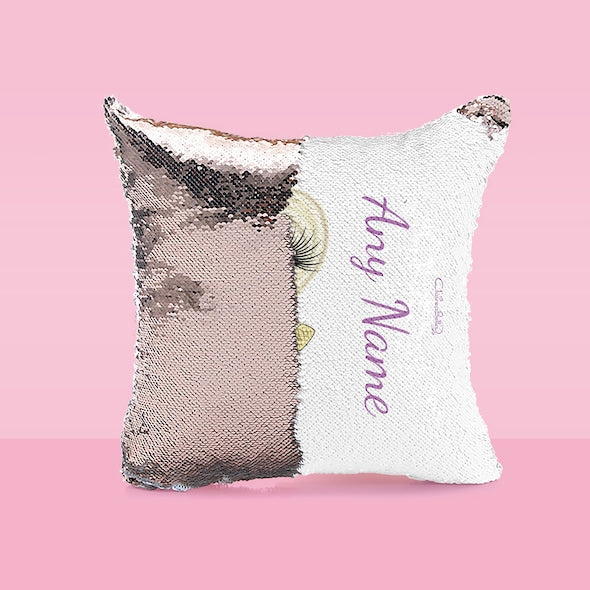 ClaireaBella Girls Classic Sequin Cushion - Image 3
