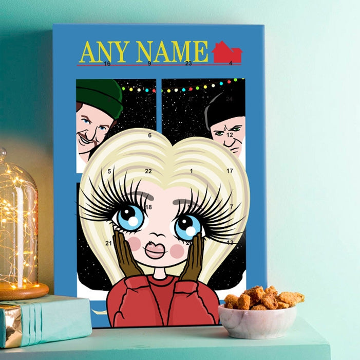 ClaireaBella Girls Alone At Home Advent Calendar - Image 1