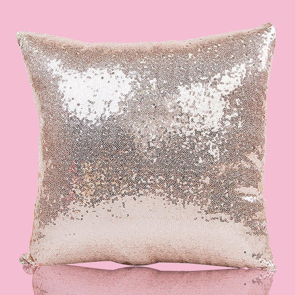 ClaireaBella Girls Star Bright Sequin Cushion - Image 6