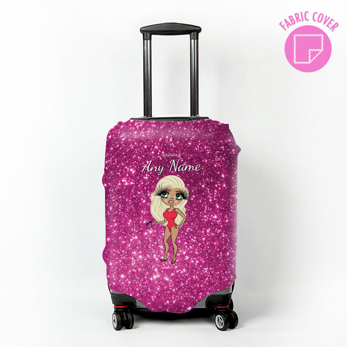 ClaireaBella Glitter Effect Suitcase Cover