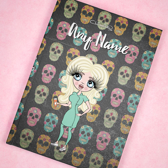 ClaireaBella A5 Hardback Diary - Skulls - Image 9