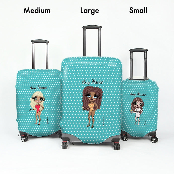 ClaireaBella Polka Dot Suitcase Cover - Image 5