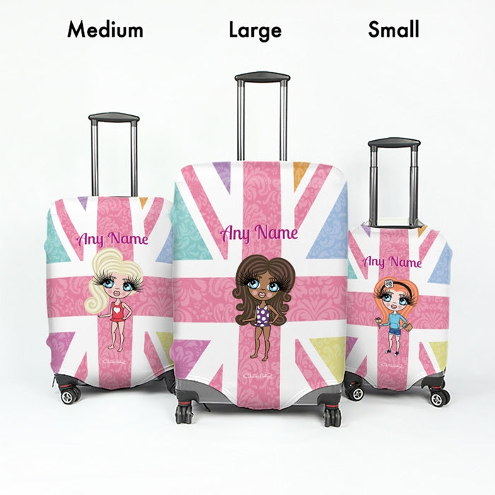 ClaireaBella Girls Union Jack Suitcase Cover - Image 5