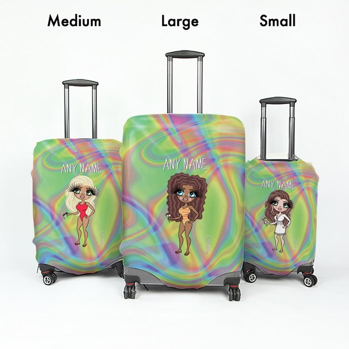 ClaireaBella Hologram Suitcase Cover - Image 5