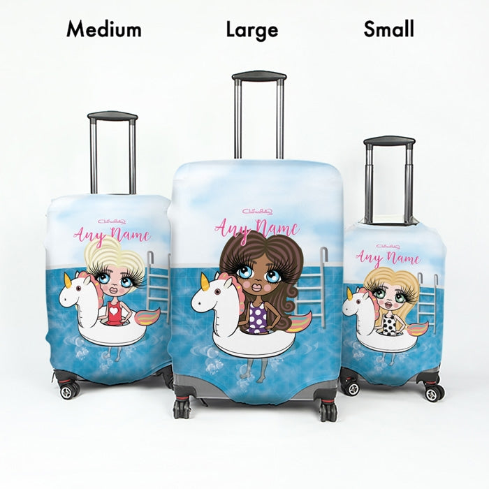 ClaireaBella Girls Unicorn Suitcase Cover - Image 5