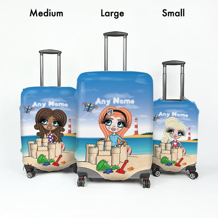 ClaireaBella Girls Suncastle Fun Suitcase Cover - Image 4
