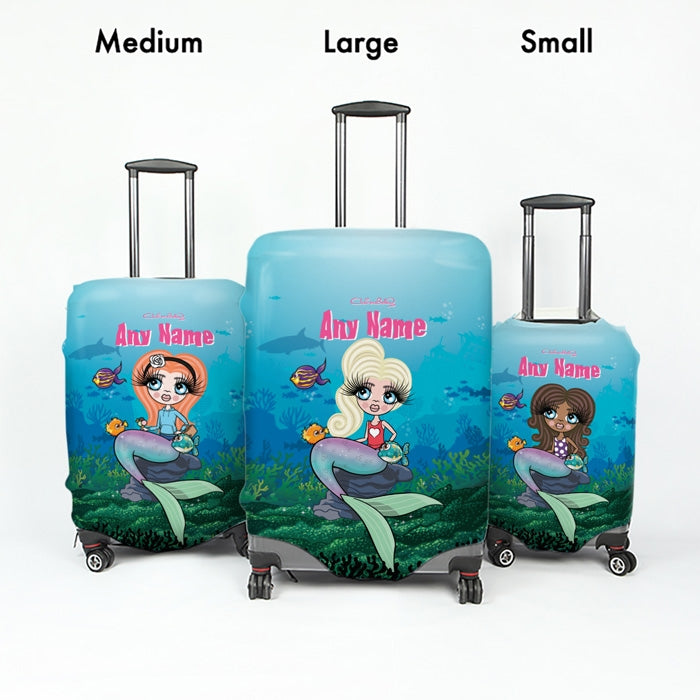 ClaireaBella Girls Mermaid Suitcase Cover - Image 5