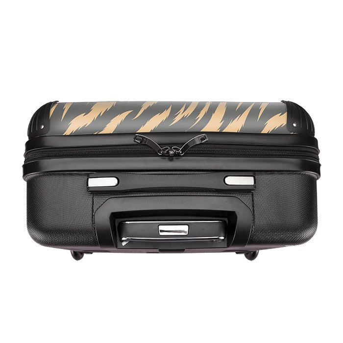 Grumpy Cat Animal Print Suitcase - Image 4