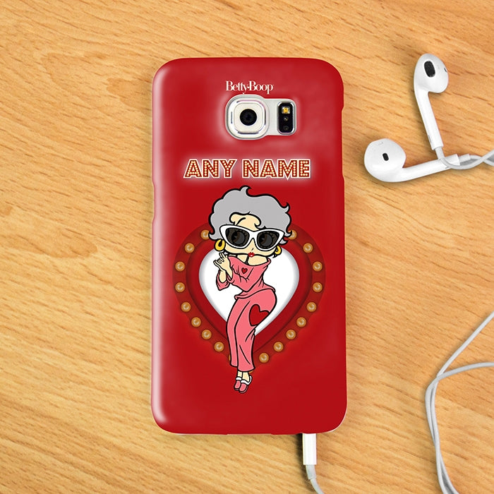 Betty Boop Name In Lights Phone Case - Image 3