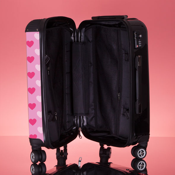 ClaireaBella Heart Suitcase - Image 8