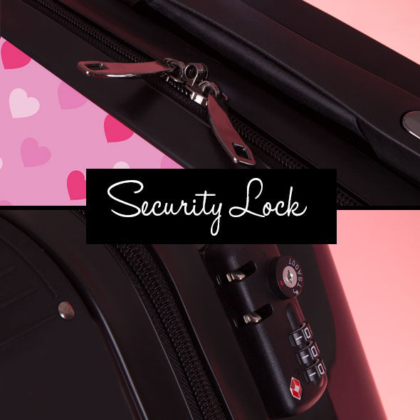 ClaireaBella Girls Heart Suitcase - Image 8
