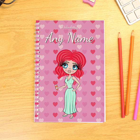 ClaireaBella Hearts A5 Softback Diary - Image 1