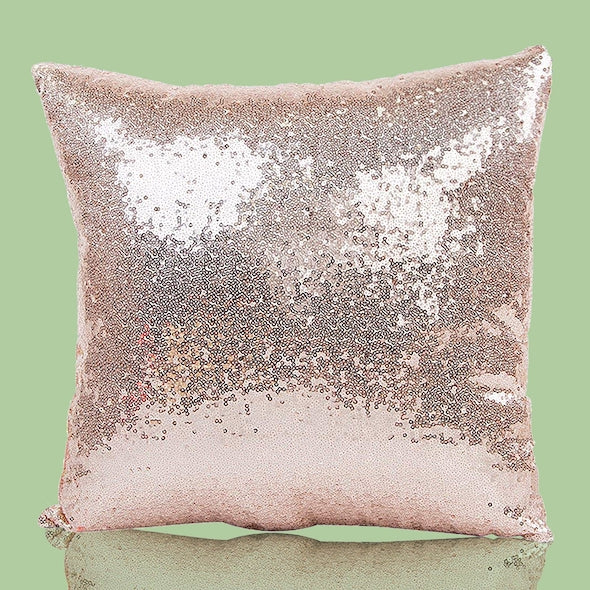 ClaireaBella Hello Gorgeous Sequin Cushion - Image 6