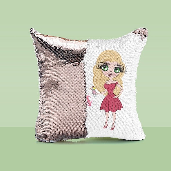ClaireaBella Hello Gorgeous Sequin Cushion - Image 3