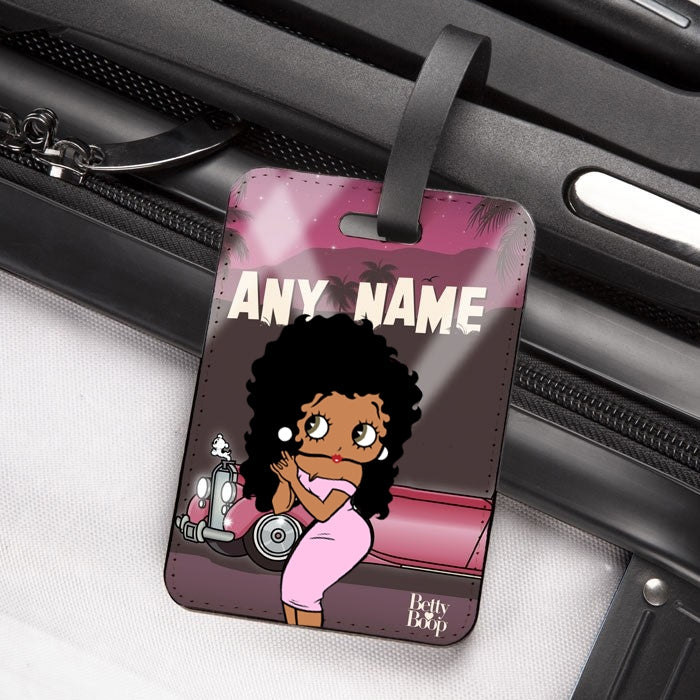 Betty Boop Hollywood Luggage Tag - Image 2