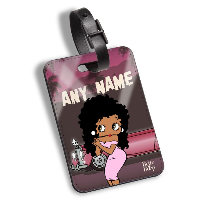 Betty Boop Hollywood Luggage Tag - Image 1
